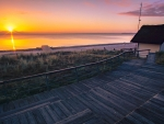Sunset at the Baltic Sea, Germany