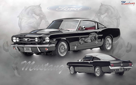1965 Ford Mustang - cool, hot, 1965, mustang