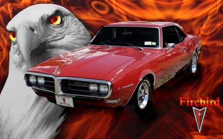 1968 Pontiac Firebird Pontiac Cars Background Wallpapers On