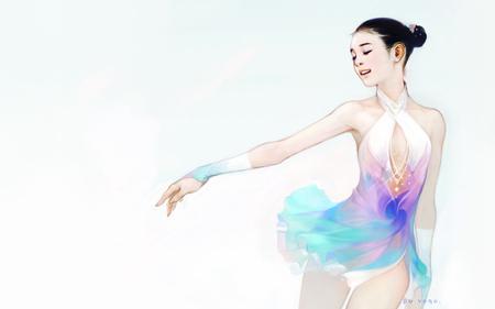 Yu Na Kim Ice Skating Sports Background Wallpapers On Desktop Nexus Image 26751