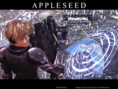 Appleseed - appleseed, anime