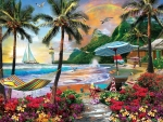 Paradise Beach - Hawaiian Life