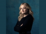 Elizabeth Moss in Black