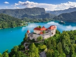 Old Castle over Lake Bled