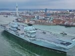 CSG 21 HMS QUEEN ELIZABETH CVA R08 FLAGSHIP WORLD OF WARSHIPS