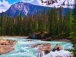 Natural Bridge, Yoho National Park, British Columbia