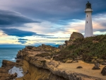 Castle Point Lighthouse New Zealand