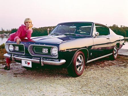 Plymouth Barracuda '1967 - plymouth, tuning, car, barracuda