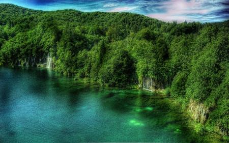 Laghi di Plitvice Croazia - croatia, plitvice, lake