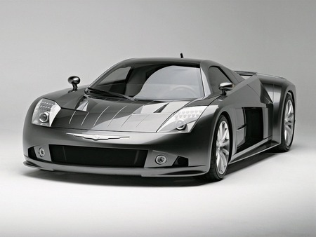 Chrysler ME Four Twelve 2004 Concept Vehicle - black and white, cars, concept, chrysler