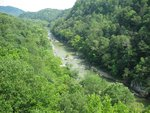 Blue Ridge Parkway Gorge View