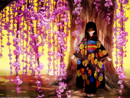 Jigoku Shoujo - hell girl, girl, ai, jigoku shoujo