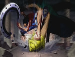 Luffy Vs Crocodile