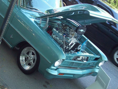 1966 Chevy Nova, Supercharged Big Block......... - chevys, hot rods, cars