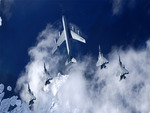 KC-135 Stratotanker F-15 Eagles