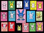 VVV's Happy Bunny Wall