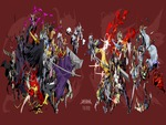 cecil harvey cloud strife exdeath firion gabranth garland golbez jecht kuja onion knigth sephiroth shan