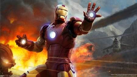 Iron Man - marvel, iron, man