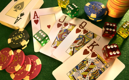 Casino-Wallpaper(8) - game, luck, cards