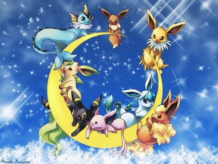 eeveelution - Pokemon & Anime