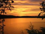 Sunset on Bull Shoals Lake