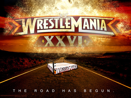Road To WrestleMania 26 - mania, 26, wrestle, wrestlemania, wwe