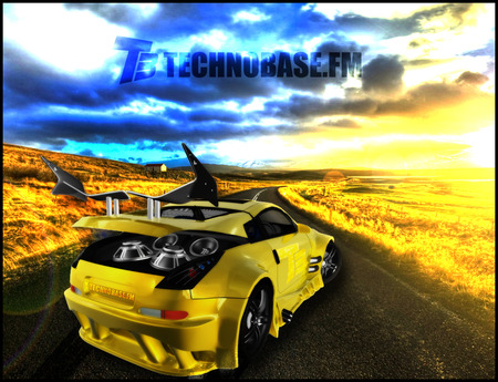 Technobase.fm: Tuned Car - sun, technobase fm, bass, music, background, abstract, tuning, we are one, fire, paradise, weareone fm, car, base, dj