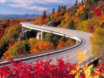 Linn Cove Viaduct Grandfather Mountain North Carolina