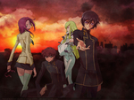 Code Geass Main Character Group