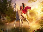 Rode on a Unicornio / Ritt auf einem Unicornio