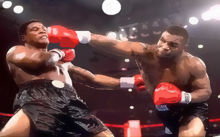 Mike Tyson vs Trevor Berbick - champion, boxing, mike tyson, sports