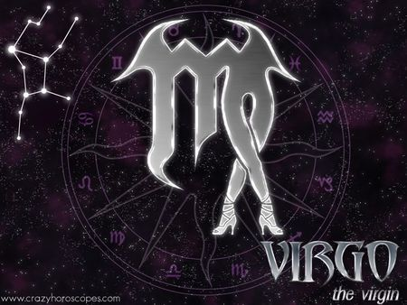 Virgo - symbol, horoscope, star, virgo, purple, zodiac, woman, astrology, legs
