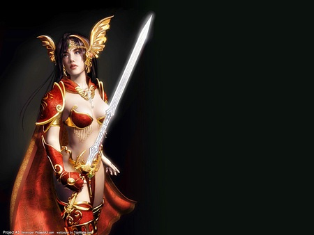 fantasy wallpaper funshun - warriors, fantasy, fighter, abstract, woman