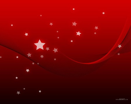 red and star wallpaper jpg - floating, stars, red, kool