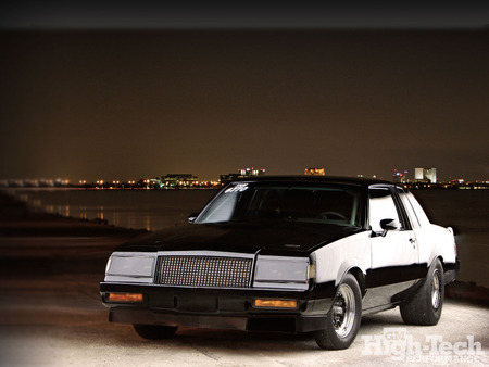 87 Buick Grand National Buick Cars Background Wallpapers