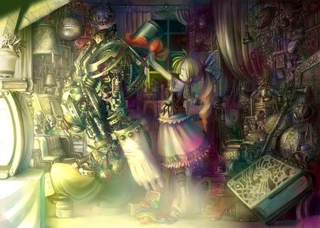 Robot Other Anime Background Wallpapers On Desktop Nexus Image