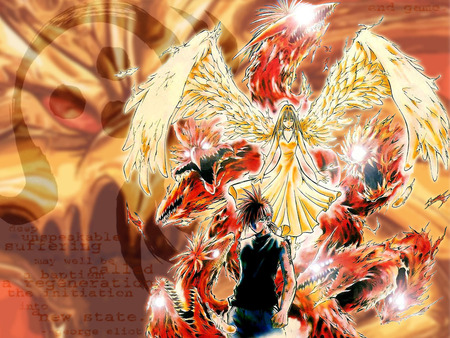Flame Of Recca Other Anime Background Wallpapers On Desktop