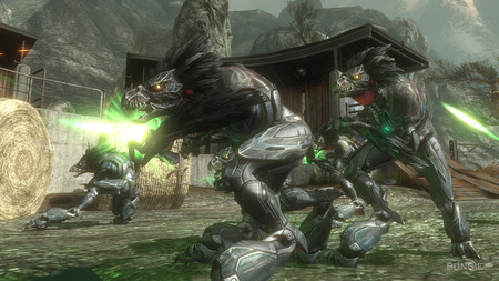 Halo Reach - halo reach, screen shot, skirmishers, cool, halo, wallpaperl