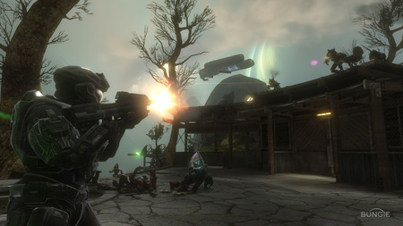 Halo Reach - cool, halo reach, map, halo, wallpaper, screen shot
