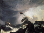 Ships in Distress in a Raging Storm