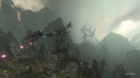 Halo Reach Campaign - cool, halo reach, map, halo, wallpaper, screen shot