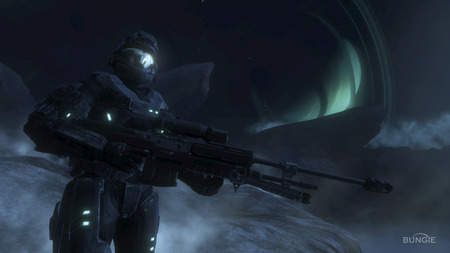 Sniper - halo reach, sniper, screen shot, cool, wallpaper, halo, map