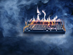 Ahhhhh! My Keyboards On Fire!