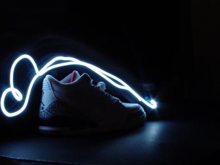 Kickz Neon Jordan Retro Iii White Basketball Sports