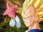 Son Vegeta SSJ vs Kid Buu