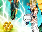 Gogeta and the Dragon Balls