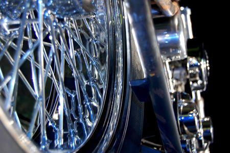 Chrome Steel And Money.............. - motorcycles, harley davidson, choppers