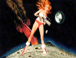 Barbarella by Robert McGinnis