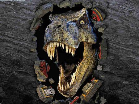 T-Rex - dinosaur, meat eater, jurassic park, t rex
