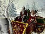 Sleigh ride with elf / Schlittenfahrt mit Elfe